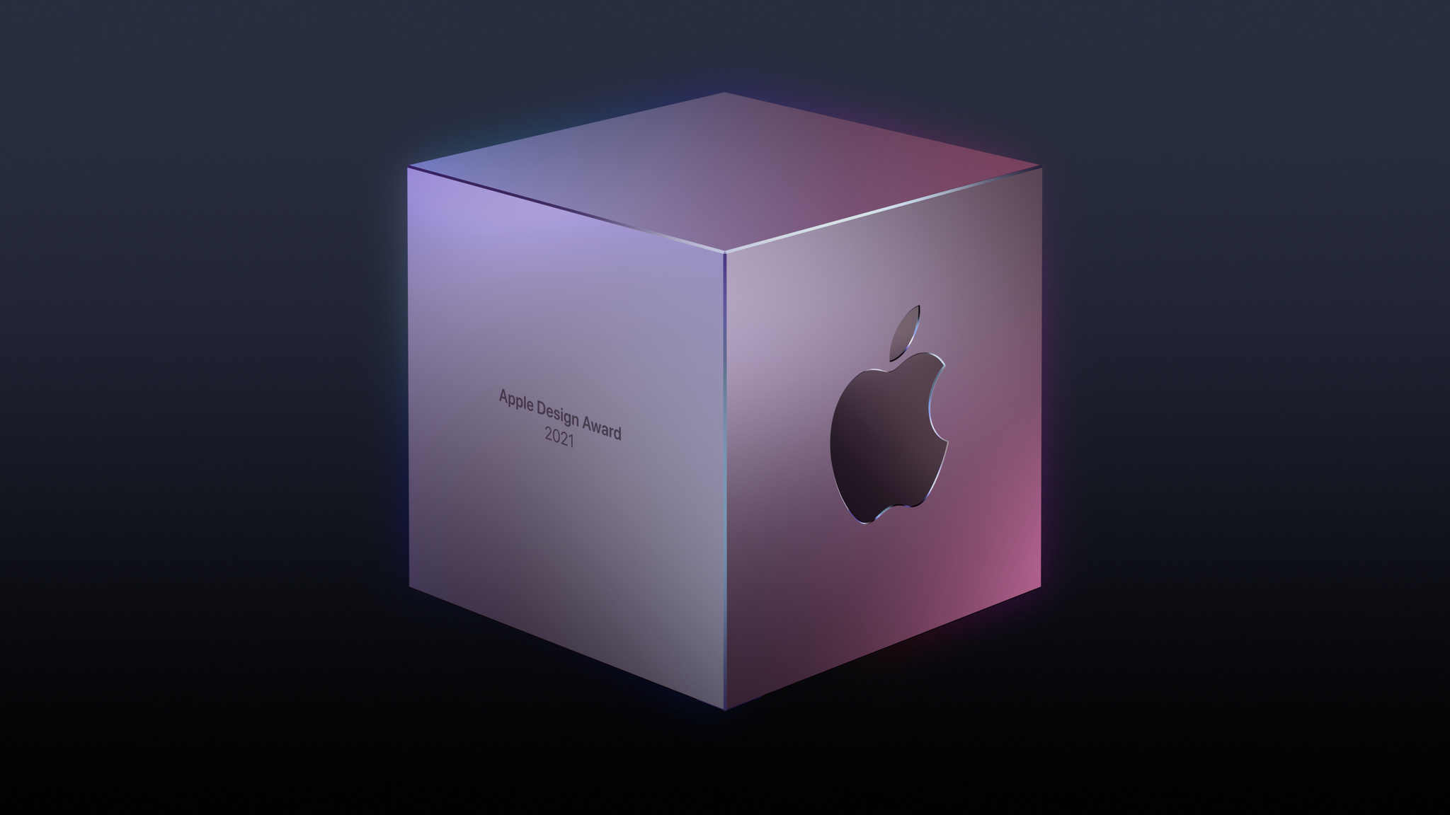 A stylized rendering of an Apple Design Award.