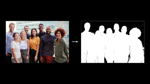 Detect people, faces, and poses using Vision