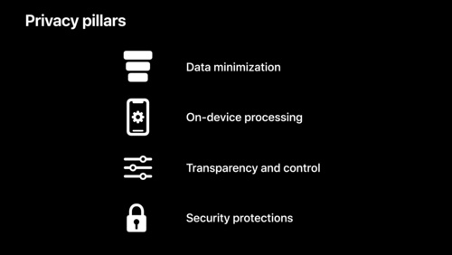 Apple's privacy pillars in focus