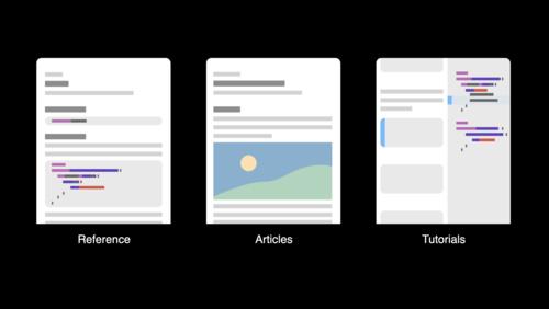 Meet DocC documentation in Xcode