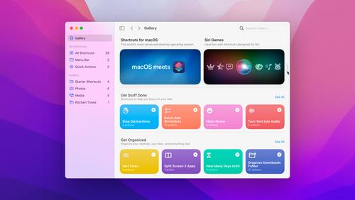Meet Shortcuts for macOS