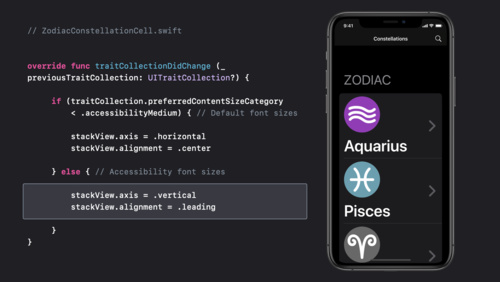 Make your app visually accessible