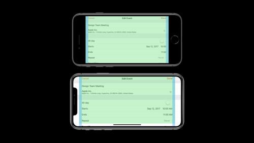 Designing for iPhone X