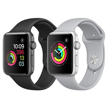 Apple Watch, Series 2 and 3