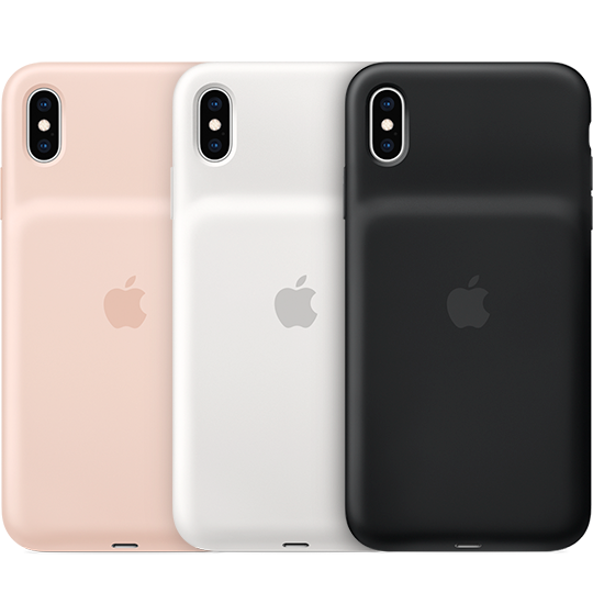 Smart Battery Case mudelile iPhone XS Max