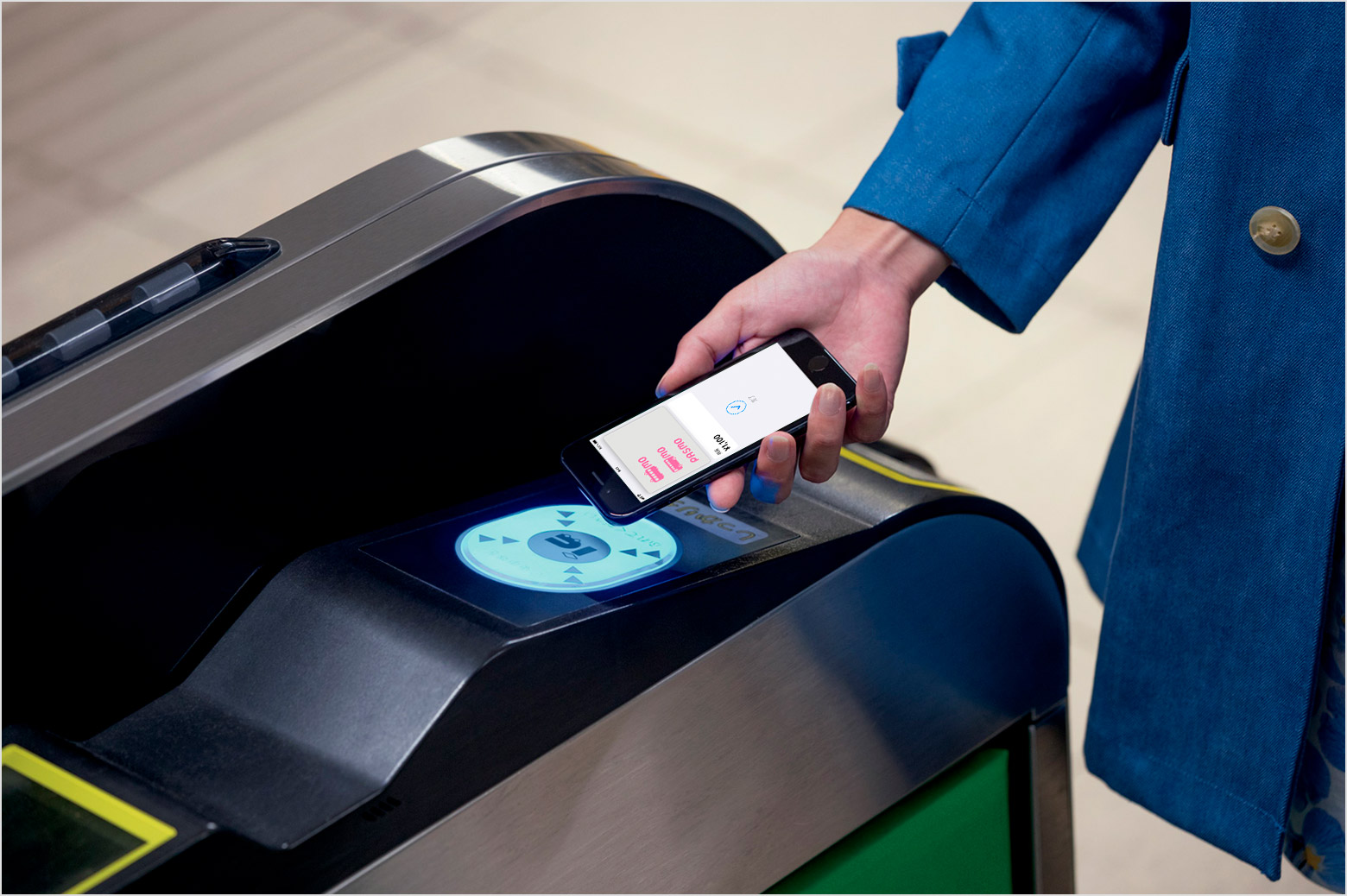 How to pay for transit with PASMO