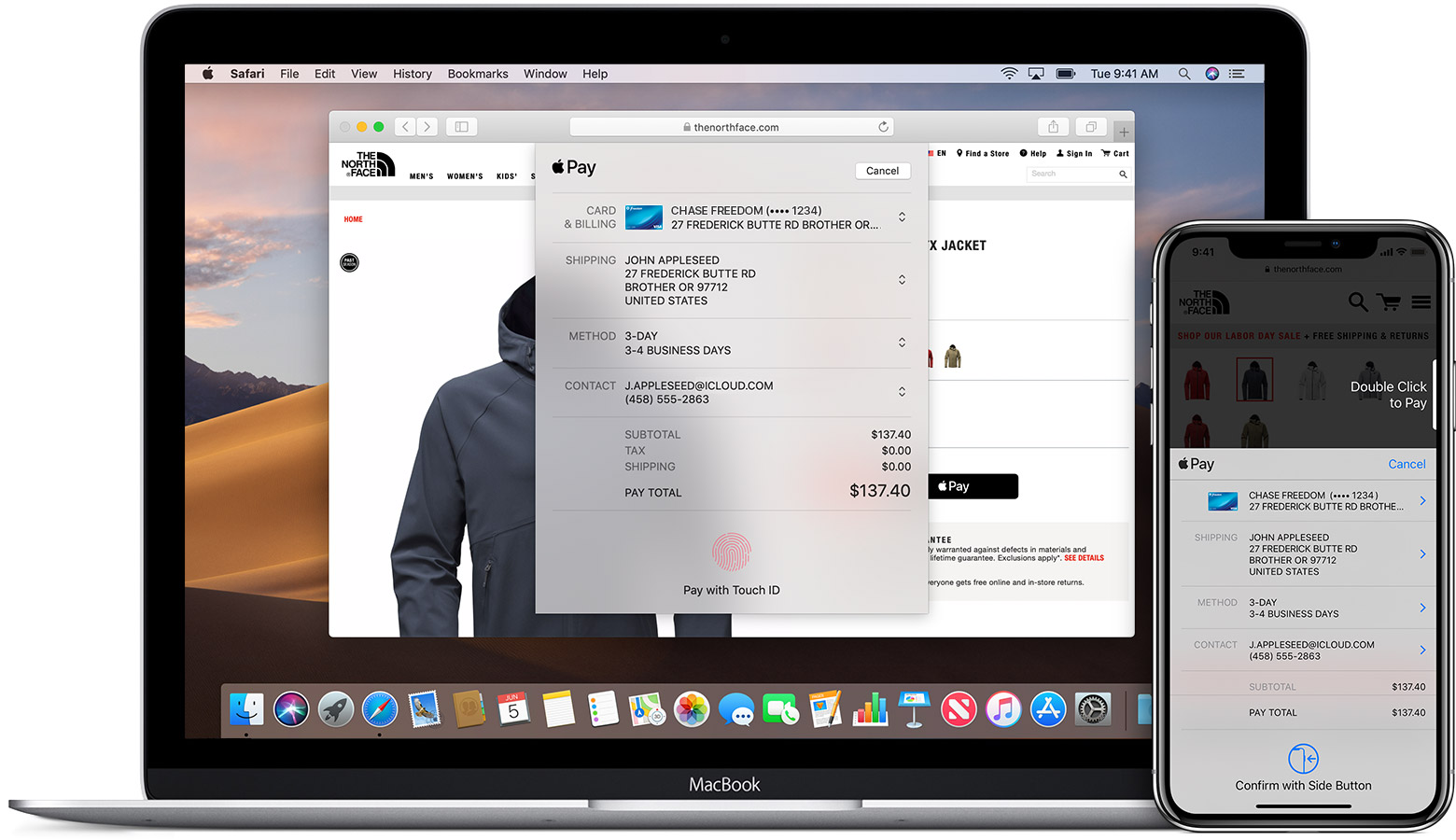 How to use Apple Pay on the web