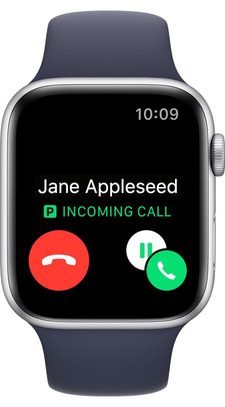 Call from Jane Appleseed from P cellular line.