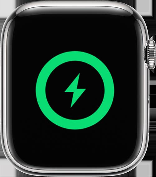 Apple Watch showing charging screen