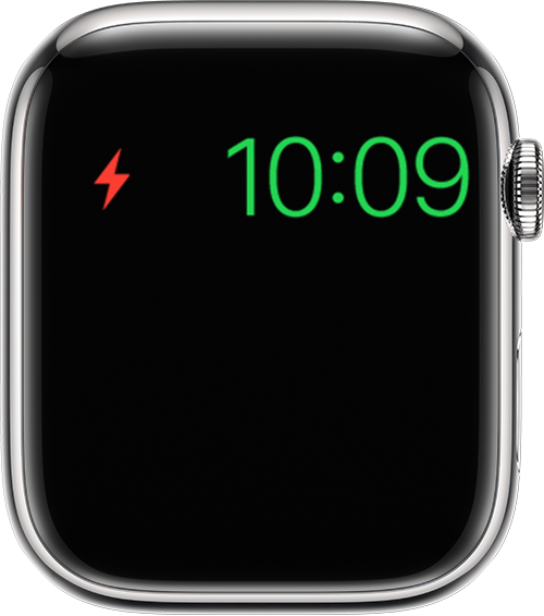Apple Watch showing Power Reserve mode