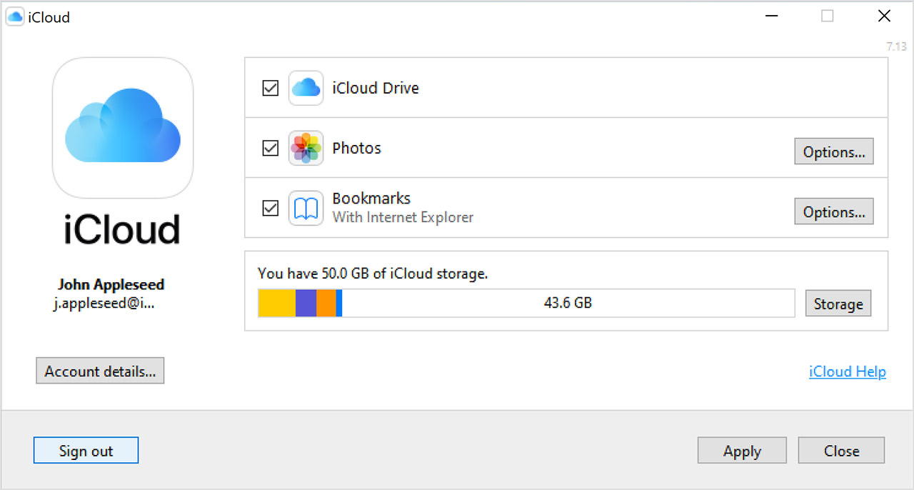 iCloud on Windows PC