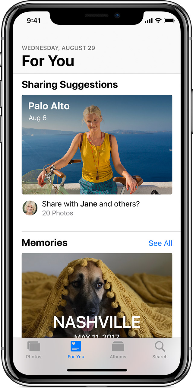 Sharing Suggestions on iPhone