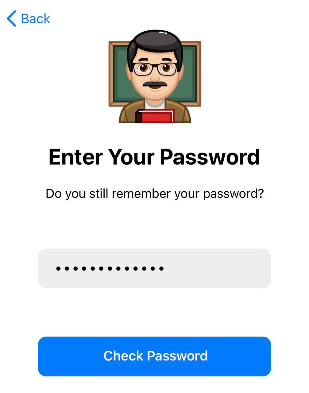 Practice Your 2-Step Verification Password