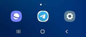 Telegram for Android's new icon