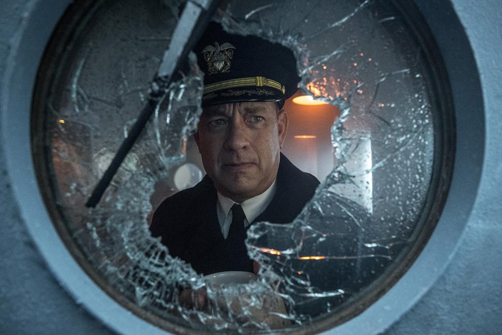 "Tom Hanks in the Apple Original Film ""Greyhound."""