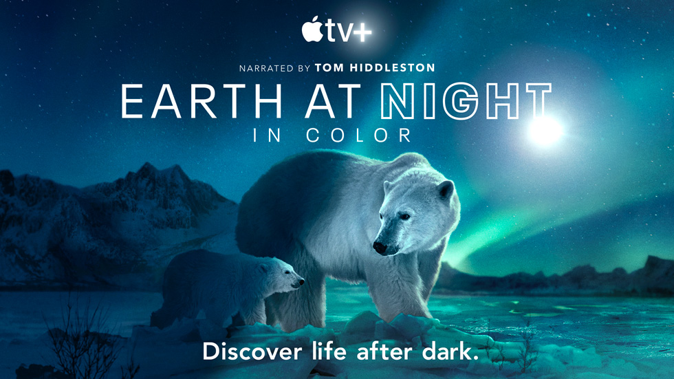 """""""Earth At Night In Color"""" docuseries."""