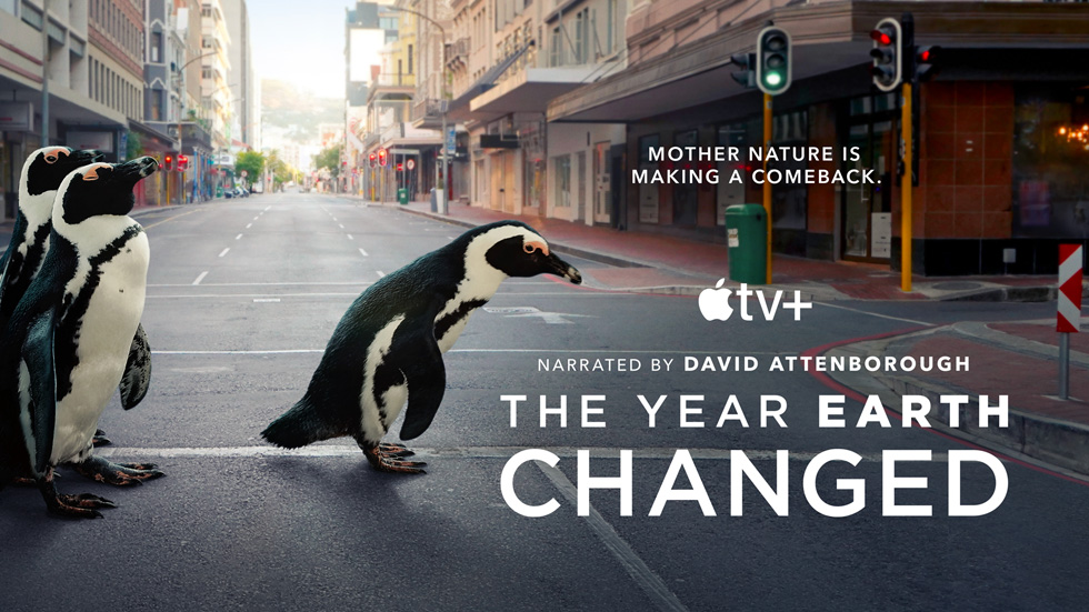 """""""The Year Earth Changed"""" documentary special."""