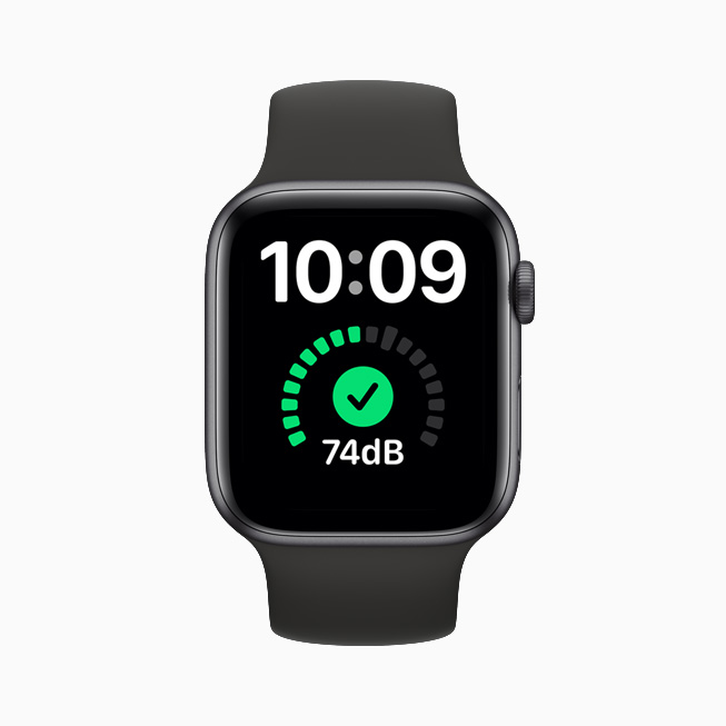Noise detection on Apple Watch.