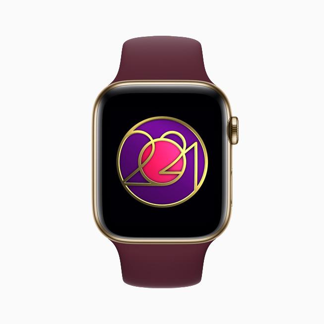 International Women's Day Activity Challenge, displayed on Apple Watch Series 6.