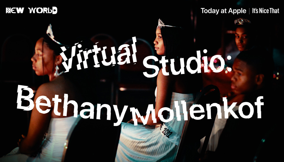 Title screen for the Bethany Mollenkof virtual session for Today at Apple.
