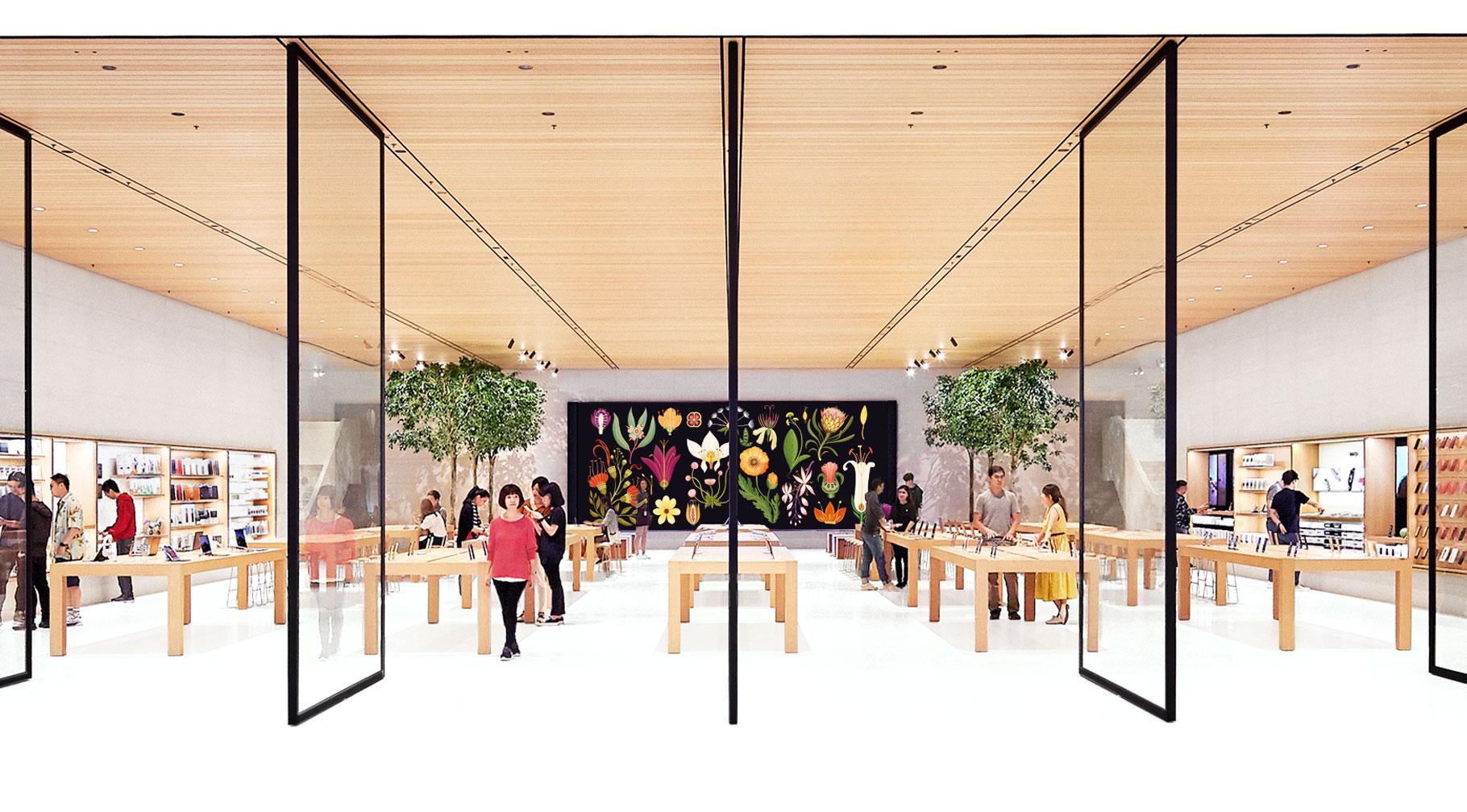 Apple Store interior